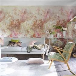 Designers Guild - Fleur De Nuit Pale Coral PDG 1106 01 Ταπετσαρία τοίχου