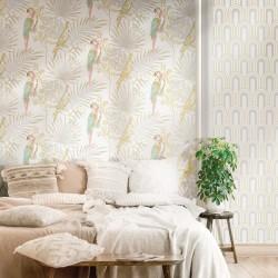 Christiana Masi - Casamood- 27002 Ταπετσαρία τοίχου Parrots 0,53x10,05