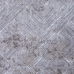 Γραμμικό χαλί γκρι μπεζ Ostia 7100/976 -  ΡΟΤΟΝΤΑ  2x2 Colore Colori
