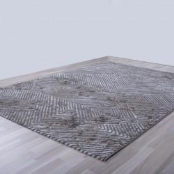 Γραμμικό χαλί γκρι μπεζ Ostia 7100/976 - 1,30x1,90 Colore Colori