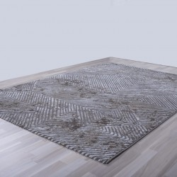 Γραμμικό χαλί γκρι μπεζ Ostia 7100/976 - 2,20x3,20 Colore Colori
