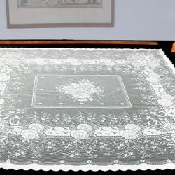 Καρέ Δαντέλα (100X100) Ecru MC Decor (7620)