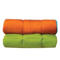 997 Κουβερτίνα Μicrofiber Πορτοκαλί - Λαχανί 2 διαστάσεις - Πορτοκαλί/Λαχανί, 160X235