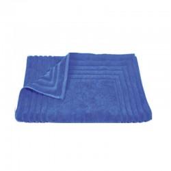 856 Ταπέτο Ζακάρ Ρίγα 100% Cotton 50x75 Μπλε - Μπλε