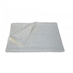 856 Ταπέτο Ζακάρ Ρίγα 100% Cotton 50x75 Εκρού - Εκρού